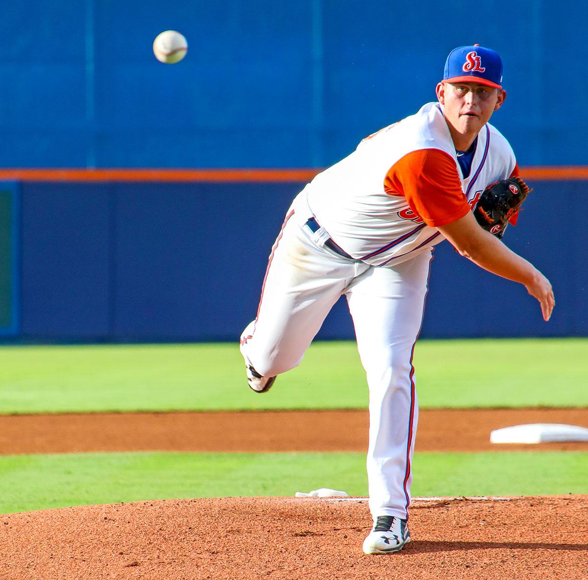 Chris Flexen Jr. was a pitcher for the St. Lucie Mets