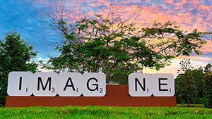 Imagine, created by artist Emma Anna
