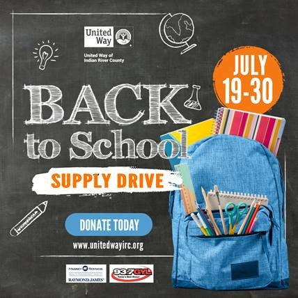 United Way and partners to host Back-to-School Supply Drive