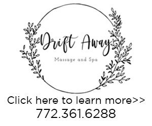 Drift Away Massage & Spa Logo Ad