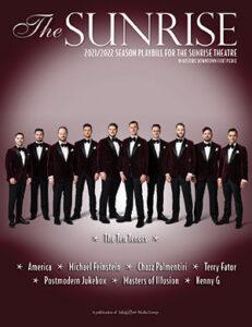 Sunrise Theatre playbill 2021-2022